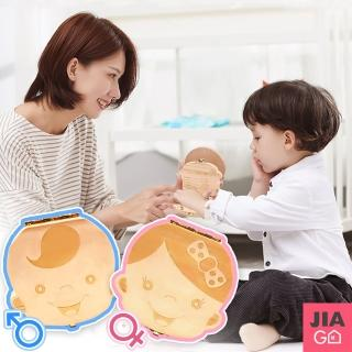 【JIAGO】天然木製寶寶乳牙保存盒