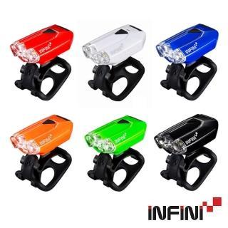 【INFINI】I-260W USB充電LED前燈(頭燈/警示燈/夜騎/安全/自行車/單車)