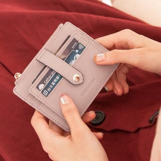 【CHENSON】真皮 9卡證件票卡夾卡包 裸粉(W19020-U)