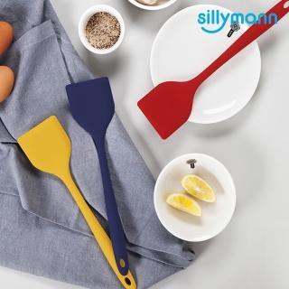 【sillymann】100%鉑金矽膠長柄煎鏟-三色(可耐熱、防發霉、無毒)