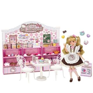 【Licca 莉卡娃娃】莉卡Kitty粉紅甜點屋(女孩 洋娃娃)