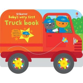 【Song Baby】Baby's Very First Truck Book 寶寶的第一本卡車書(硬頁書)