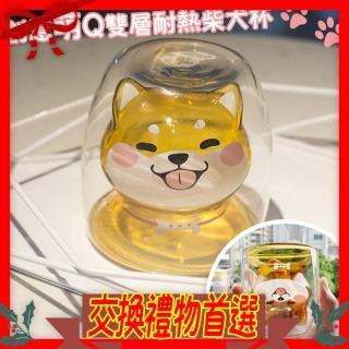 【交換禮物/半島良品】柴犬-黃/桌上療癒擺飾杯(百元禮物 聖誕禮物 生日禮物)