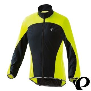 【PEARL iZUMi】出清優惠|2300-4 16 輕量口袋型風衣 黃黑(防風/收納/輕量/防潑水/運動/慢跑/自行車)