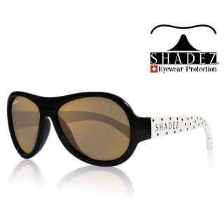 【SHADEZ】兒童太陽眼鏡 波卡點點 3-7歲(台灣製造 鏡架可彎)