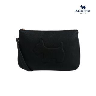 【AGATHA】雙層兩面用手拿/肩背包(無分正反面有附肩背帶)