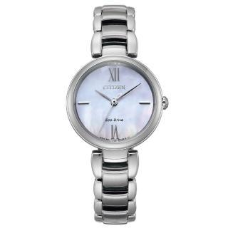 【CITIZEN 星辰】L系列璀璨光動能時尚腕錶(EM0530-81Y)