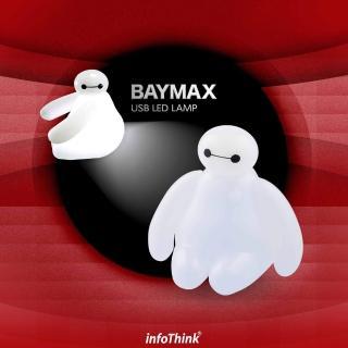 【InfoThink】BayMax 杯麵USB LED造型燈 含遙控器(聖誕限量版)