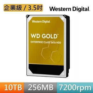 【WD 威騰】金標 10TB 企業級 3.5吋 SATA硬碟(WD102KRYZ)