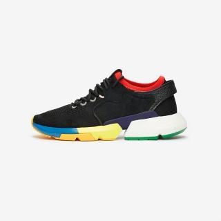 【adidas 愛迪達】POD-S3.1 CONSORTIUM X SOCIAL STATUS 三方聯名 限量 黑色 BOOST 男鞋(F34324)