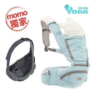 【YoDa】全配花色透氣儲物座椅式揹帶全配花色透氣儲物座椅式揹帶四款可選加嬰兒背帶兩款可選(超值組合)