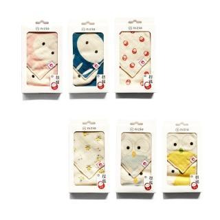 【Nizio】招福領巾方巾兩件組(六色可選)