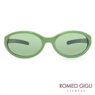 【Romeo Gigli】義大利俏皮透明感太陽眼鏡(綠-RG164-011)