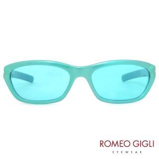 【Romeo Gigli】義大利復古亮麗太陽眼鏡(螢光綠-RG165-012)