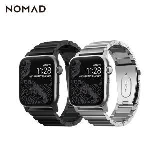 【美國NOMAD】APPLE WATCH 不鏽鋼錶帶-42/44mm(抗刮耐磨)
