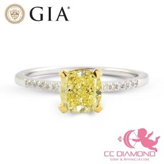 【CC Diamond】典藏GIA一克拉黃彩鑽戒(2020特惠價)