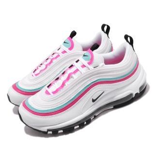【NIKE 耐吉】休閒鞋 Air Max 97 運動 女鞋 經典款 氣墊 避震 復刻 反光 穿搭 白 粉(CT6806-116)
