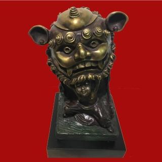 【Laart Monto 拉蒙朵】薪傳獎銅雕大師-蕭啟郎-步步高升(銅雕)