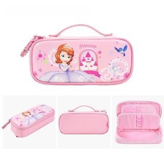 【Disney 迪士尼】附密碼鎖大容量手提筆袋 共10款(密碼鎖筆袋)