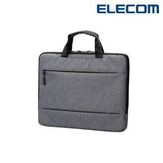 【ELECOM】輕便型收納包13.3吋-灰(BM-IBCH13GY)
