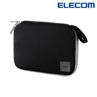 【ELECOM】Multi小物收納包 M -黑(BMA-GP12BK)