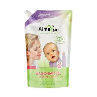 【德國Almawin】天然環保洗衣精補充包-薰衣草1.5L(直立、滾筒洗衣機皆適用)
