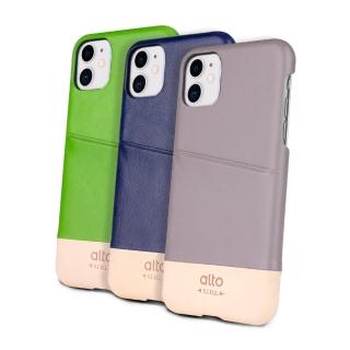 【alto 奧沰】iPhone 11 皮革保護殼 Metro(插卡 口袋 收納)