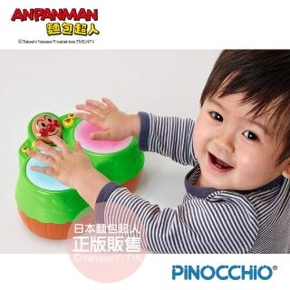 【ANPANMAN 麵包超人】一起快樂玩音樂!麵包超人魔法手鼓(8個月以上-)