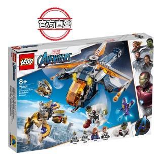 【LEGO 樂高】超級英雄系列 Avengers Hulk Helicopter Rescue 76144 浩克 復仇者(76144)