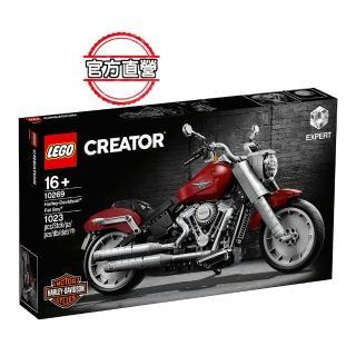 【LEGO 樂高】創意百變系列 Harley-Davidson Fat Boy 10269 哈雷 重機車(10269)