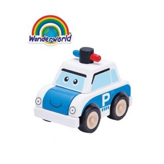 【泰國 Wonder World】歡樂拼裝系列-警車