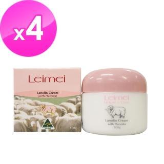 【澳洲Natures Care】Leimei綿羊霜含胎盤素(4入組 100g/罐)