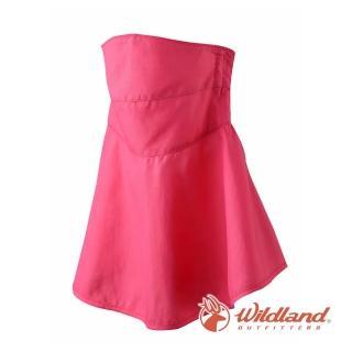 【Wildland 荒野】中性 涼感紗抗UV口罩-玫瑰紅 W1802-20(防曬口罩/機車/半罩/抗UV)