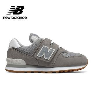 【NEW BALANCE】NB 復古休閒鞋/童鞋_男鞋/女鞋_淺灰_YV574SPU-W楦 運動 休閒 潮流 時尚