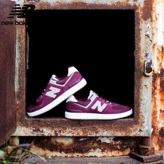 【NEW BALANCE】NB 復古鞋_男鞋/女鞋_酒紅_AM574MRR-D楦 板鞋 運動 潮流 休閒