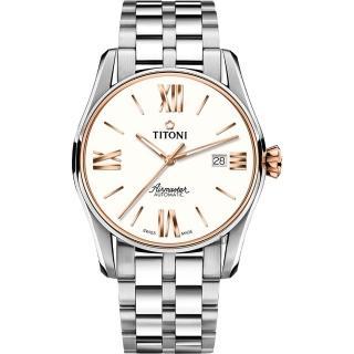 【TITONI 梅花錶】新空中霸王系列機械錶(83908 SRG-619)