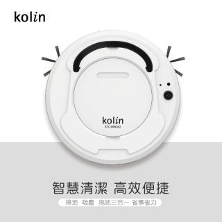 【Kolin歌林】智能自動機器人掃地機KTC-MN262(掃地/拖地/吸塵/清潔/USB/懶人神器)