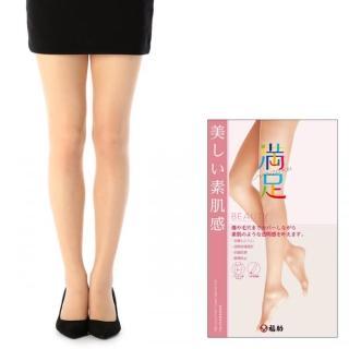 【日本福助】新滿足 不勾紗 美腿素肌感 防臭透膚絲襪(140-1801)