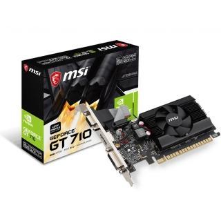【MSI 微星】GT 710 2GD3 LP PCI-E顯示卡