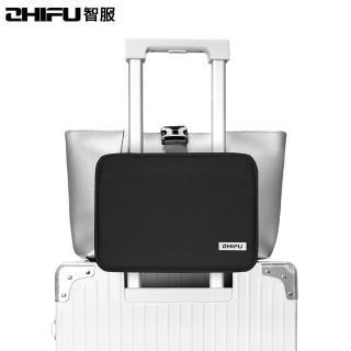 【ZHIFU 智服】行李斜跨包-黑色 博林代理公司貨(行李包 固定包 斜跨包 小包)