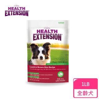 【Health Extension 綠野鮮食】天然成幼犬糧 羊肉+米 大顆粒 1LB -約0.45KG  狗飼料 飼料(A001A161)