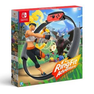 【Nintendo 任天堂】Switch 健身環大冒險+專屬控制器Ring-Con(Labo用)