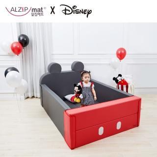 【韓國 ALZiPmat & DISNEY 迪士尼】輕傢俬系列 多功能圍欄地墊/沙發床 -(米奇)