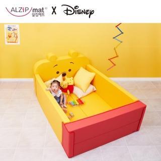 【Alzipmat】輕傢俬系列 多功能圍欄地墊/沙發床-(米奇/維尼/小豬-三款任選)