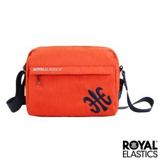 【ROYAL Elastics】Festival山林搖滾系列-休閒側背包-橘紅