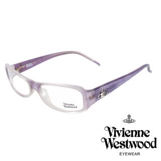 【Vivienne Westwood】土星經典款光學眼鏡(紫 VW066_01)