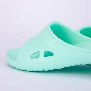 【生活工場】【618品牌週】Q彈氣墊家居拖鞋 綠