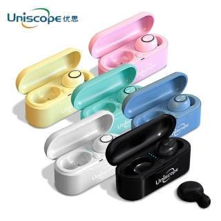 【Uniscope 優思】真無線馬卡龍藍牙耳機(I8(S20+))