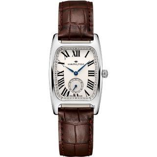【HAMILTON 漢米爾頓】美國經典 柏登系列石英錶-咖啡(H13421511)