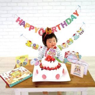 【Kikka For Mother】日製慶生派對組合 3色可選(生日派對)